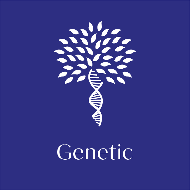 genetic health test icon