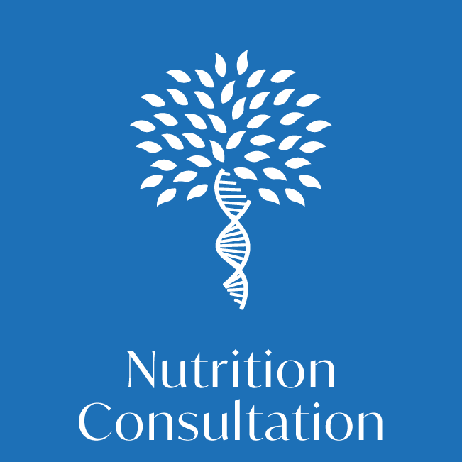 Nutritional consultation health test icon
